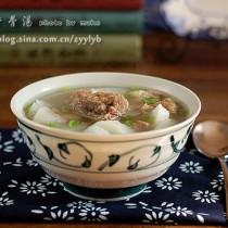 蘿卜牛骨湯