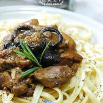 黑椒燉肉配義大利麵
