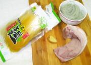 家常酸菜粉條五花肉的做法圖解1