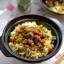 咖喱肥牛麵