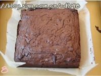 巧克力核桃佈朗尼的做法圖解8