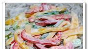 甜椒沙拉的做法圖解4