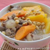 木瓜黃豆牛尾湯的做法