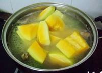 木瓜黃豆牛尾湯的做法圖解4