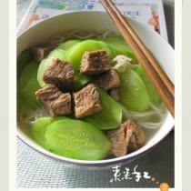 青瓜牛肉麵