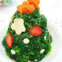 聖誕果蔬沙拉