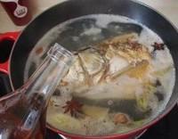 鐵鍋魚頭燉豆腐的做法圖解8