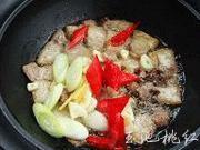 乾煸菜花五花肉的做法圖解4