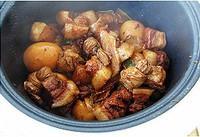 豆結滷蛋紅燒肉的做法圖解15