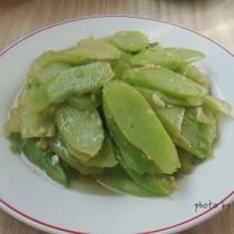 蒜蓉芥蘭片