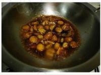 蔥燒栗子的做法圖解6