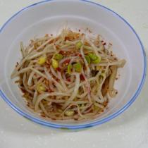 韓式涼拌黃豆芽的做法