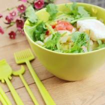 雜蔬熱湯麵