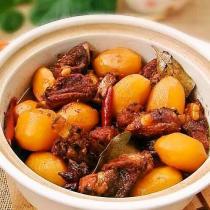 排骨燉小土豆的做法