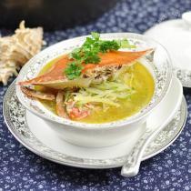 螃蟹蘿卜湯