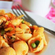 炒貝殼義麵
