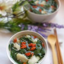 枸杞葉魚片湯