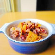 核桃雜糧番薯粥