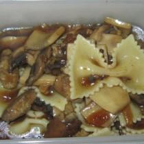 黑椒汁雙菇義麵