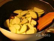 魚醬炒白果西葫蘆的做法圖解5
