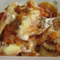 素紅醬義麵