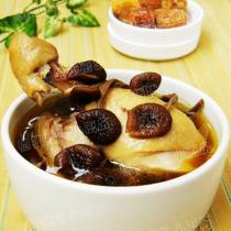 茶樹菇煲雞
