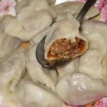 西葫蘆蘑菇鮮肉餃