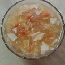 腐竹銀耳甜湯