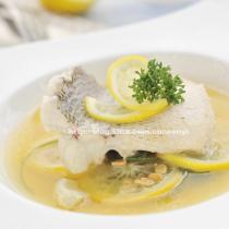 檸香酸湯鱸魚的做法