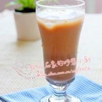 紅豆沙玄米冰奶茶
