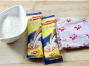 紅豆沙玄米冰奶茶的做法圖解2