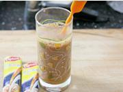 紅豆沙玄米冰奶茶的做法圖解3