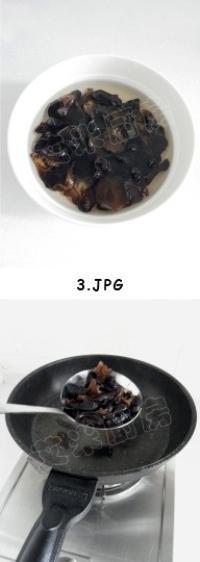 東北家常黑白菜的做法圖解3