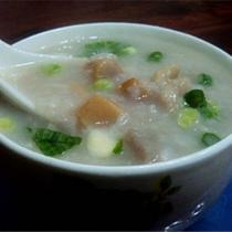 江瑤柱檳榔芋粥