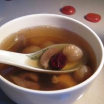桂圓紅棗豬心湯