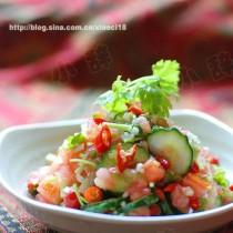 傣式涼拌黃瓜的做法