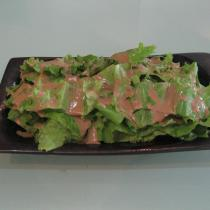 芝麻醬拌生菜的做法