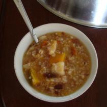 南瓜紅米香粥