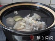 雙色杏仁豬蹄湯的做法圖解16
