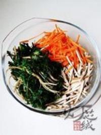 野生薺菜拌豆乾的做法圖解7