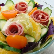 培根蔬果沙拉的做法