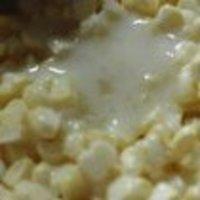 流動般的奶香玉米烙的做法圖解3