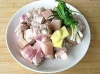 竹筍熇肉的做法圖解3