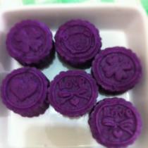 香甜紫薯餅的做法