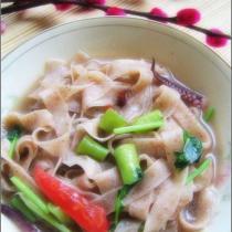 海鮮熗鍋麵