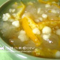 柑橘銀耳薏米羹
