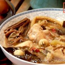 茶樹菇燉雞湯