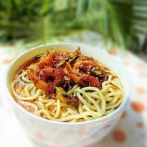 海米蔥油麵